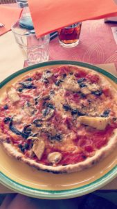 Glutenvrije pizza italië