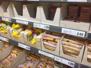 Glutenvrije schap Lidl Spanje