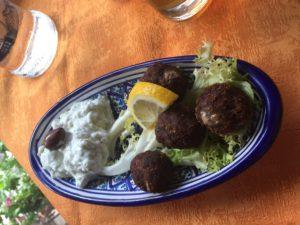 Glutenvrije gehaktballen Venetië