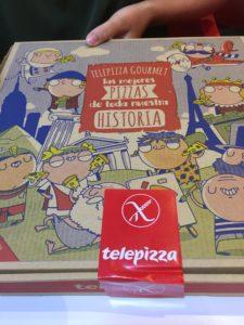Spanje glutenvrije pizza