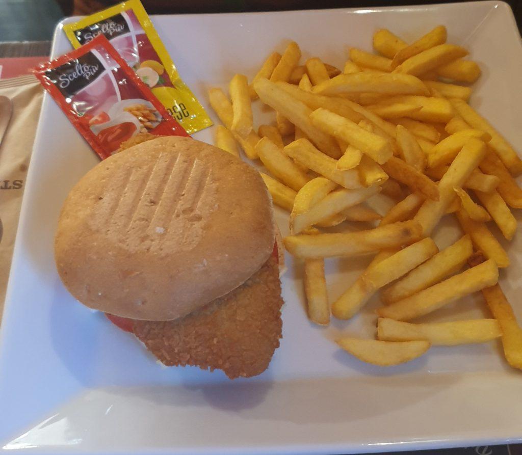 glutenvrij eten in italie glutenvrije hamburger kip met patat